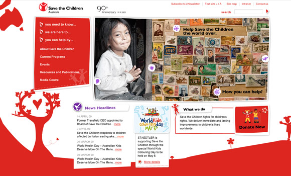 save the children website image 1